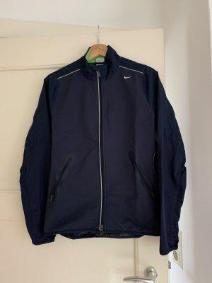 Nike Giacca sport blu scuro-verde