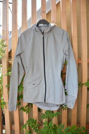 Sport- Regenjacke mit Kapuze, vollreflektierend, NIKE, XS