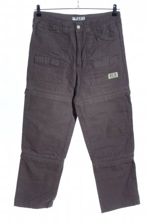 Sport-Scheck Baggy Jeans light grey casual look