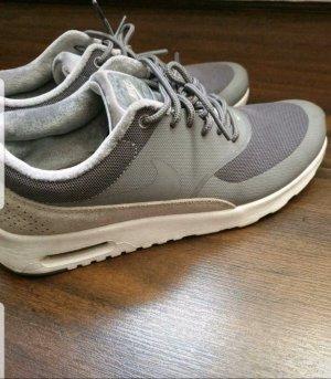 Nike Patent Leather Ballerinas grey