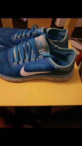 Nike Sailing Shoes cornflower blue-neon blue