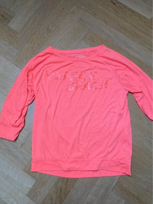 Venice beach T-shirt de sport orange fluo