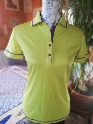 inoc Maglietta sport lilla-verde neon