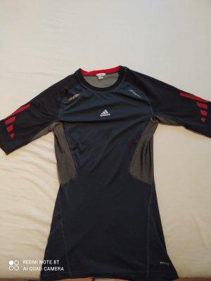 Adidas Sportshirt zwart-rood