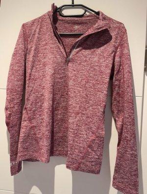 Crane T-shirt de sport rouge framboise-magenta