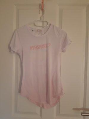 GYMSHARK Sports Shirt white