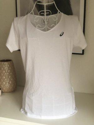Asics T-shirt de sport blanc