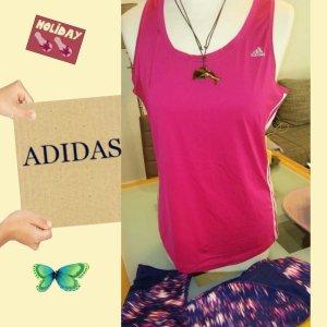 Adidas T-shirt de sport multicolore tissu mixte