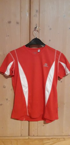 Icepeak T-shirt rosso-bianco Poliestere