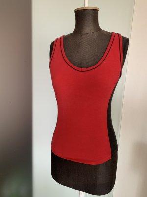 Venice beach T-shirt de sport noir-rouge