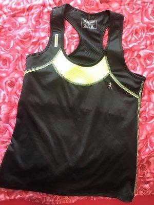 Arizona Maglietta sport nero-giallo neon