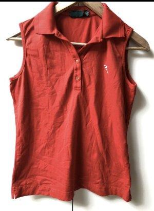 Chervo Maglietta sport rosso mattone-rosso Poliammide