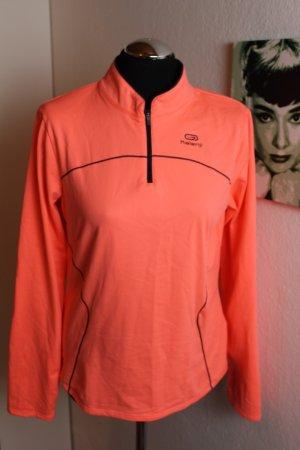Kalenji Sportshirt oranje-neonoranje