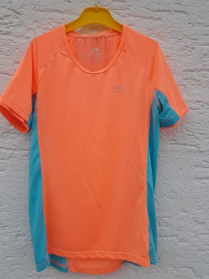 Pro Touch Sports Shirt neon orange-turquoise polyester