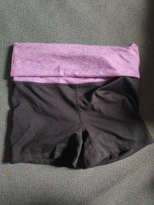 H&M Sport Pantalón corto deportivo rosa