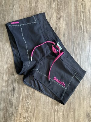 Bench Shorts black-pink