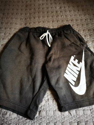 Nike Pantalón corto deportivo blanco-negro