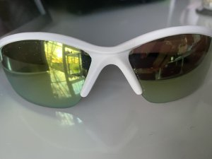 Limar Oval Sunglasses white