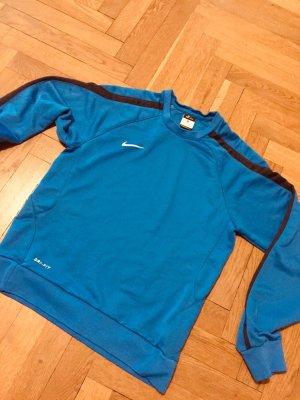 Sport Sweater Nike Vintage Gr. S blau Fußball Jogging Puma Adidas