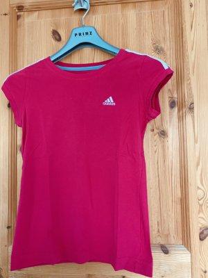 Adidas Maglietta sport rosa-magenta