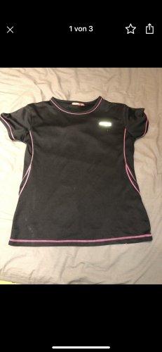 Manguun Sportshirt zwart-roze
