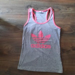 Adidas NEO T-shirt grijs-roze