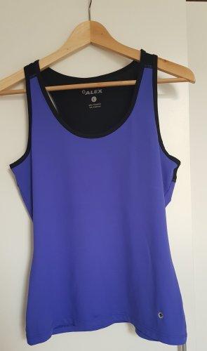 Alex T-shirt de sport noir-bleu
