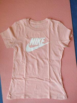 Nike Sports Shirt white-light pink