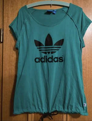 Sport T-Shirt grün Adidas XS