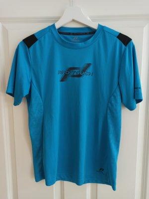Sport T-Shirt pro touch blau/schwarz 34