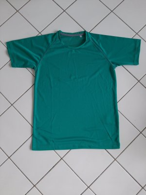 Sport T-Shirt S mint grün fitness laufen Yoga Joggen Top Activewear