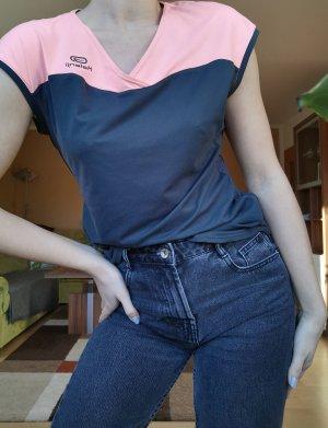 Kalenji Sports Shirt anthracite-pink