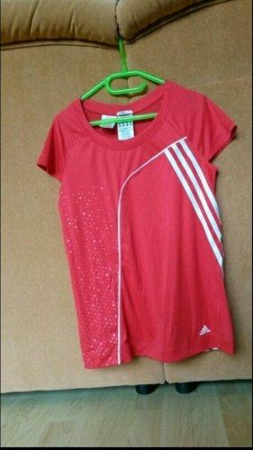 Adidas T-shirt czerwony