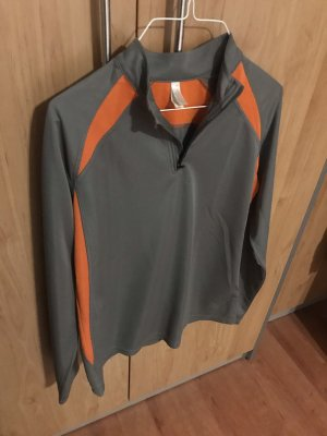 Kariban T-shirt de sport gris-orange