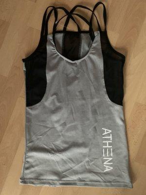 Athena Marie Sports Tank silver-colored-black