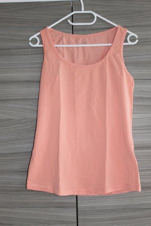 Active wear Top deportivo sin mangas nude