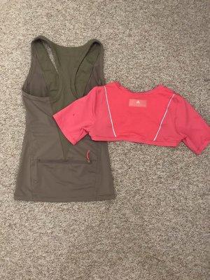 Adidas by Stella McCartney Sporttop roze-khaki