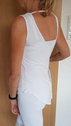 Maglietta sport bianco Viscosa