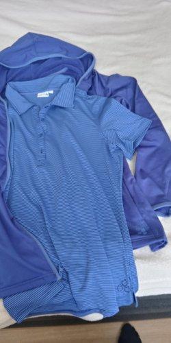 Sports Ensemble en jersey bleu-bleu fluo polyester