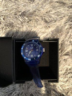Swatch Digital Watch steel blue