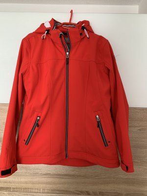 Cross Field Veste softshell rouge