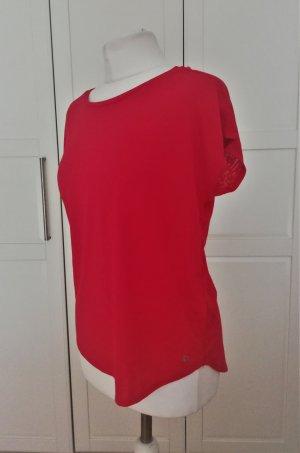 Sport Yoga Shirt Oversize Red