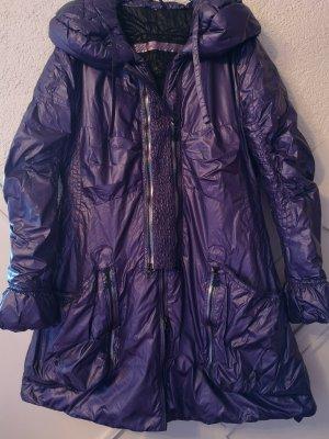 Sportalm Alpine Deluxe Designermantel Violett Purple