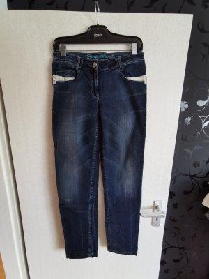 Sportalm Damen Jeans Gr. 36 Blau