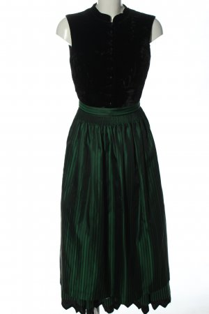Sportalm Dirndl czarny-zielony W stylu casual