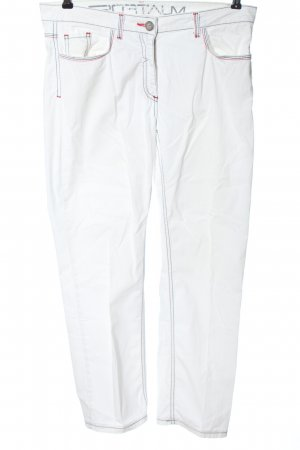 Sportalm Five-Pocket Trousers white casual look