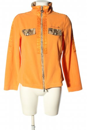 Sportalm Fleece Jackets light orange athletic style
