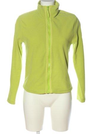 Sportalm Fleece Jackets green casual look