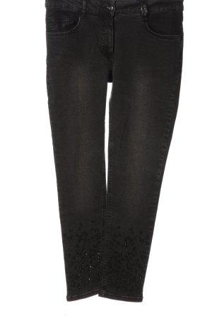 Sportalm Jeans a vita alta nero stile casual