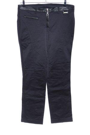 Sportalm Pantalon taille basse noir style décontracté